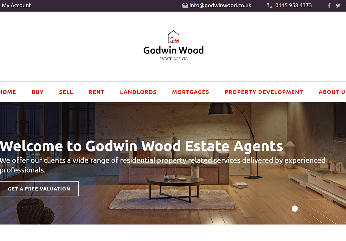 Website and Web Application for Estate Agent