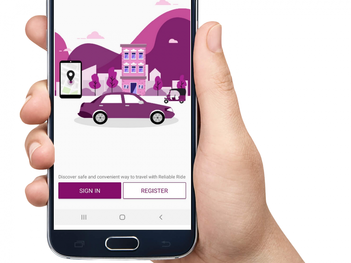 Taxi Driver and Passenger App